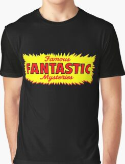Famous Fantastic Mysteries vintage Graphic T-Shirt