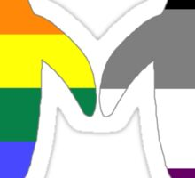 Gay Ace Pride Penguins Sticker