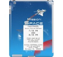 Mission Space Fastpass iPad Case/Skin