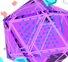 Geometric Gem Sticker