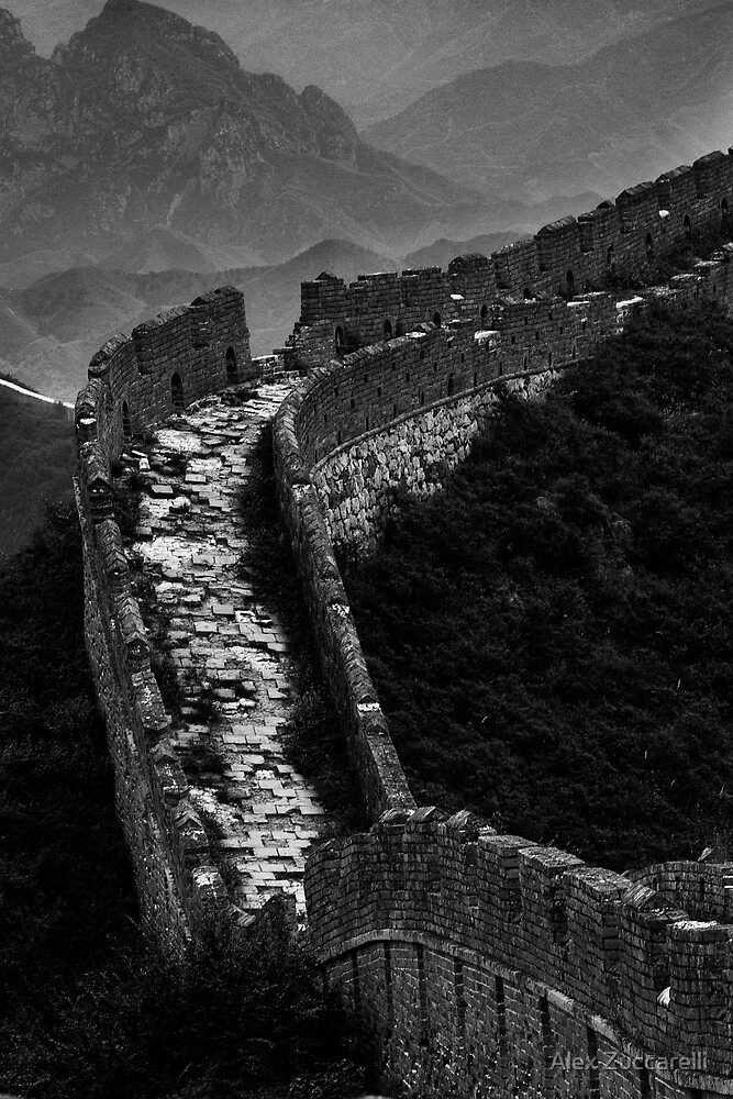 Great Wall of China - Miyun, China by Alex Zuccarelli