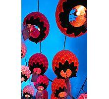 Buddhist Prayer Lanterns - Samgwang Temple, South Korea Photographic Print
