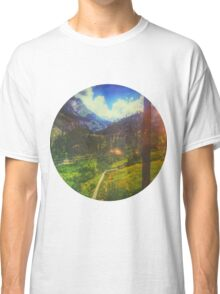 Valley Window View Classic T-Shirt