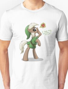 Epona in Hero's Clothes by anearbyanimal Unisex T-Shirt