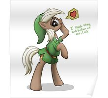 Epona in Hero's Clothes by anearbyanimal Poster