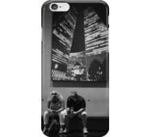 Texting...., Contemplating.... iPhone Case/Skin