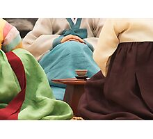 Korean Tea Ceremony - Busan, South Korea Photographic Print