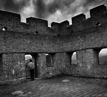Watchtower on the Great Wall - Miyun, China by Alex Zuccarelli