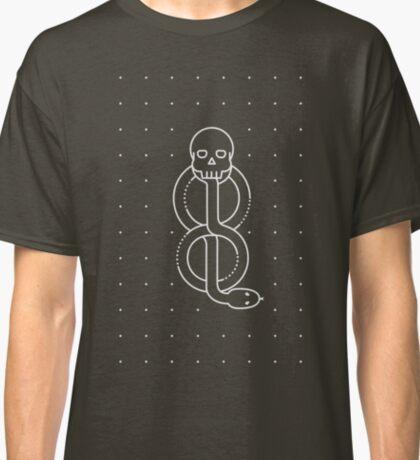 Minimalist Dark Marks HP Black Classic T-Shirt