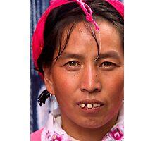 Dali Villager - Dali, China Photographic Print