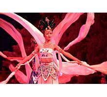 White Sleeve Dance - Xi'an, China Photographic Print