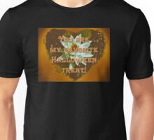 Halloween_You Are My Treat_Greeting      Water Lily Unisex T-Shirt