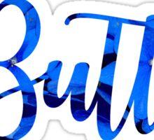 Butler ~floral text~ Sticker