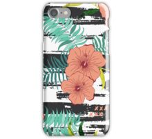 Tropical floral  iPhone Case/Skin