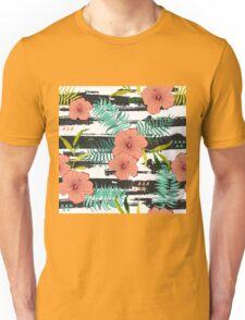 Tropical floral  Unisex T-Shirt