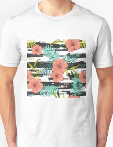 Tropical floral  Unisex T-Shirt