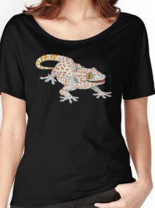 Light Blue Tokay Gecko Women's Relaxed Fit T-Shirt