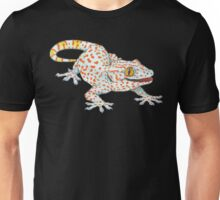 Light Blue Tokay Gecko Unisex T-Shirt
