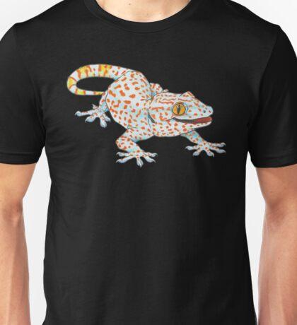 Light Blue Tokay Gecko Unisex T-Shirt
