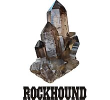 Smoky Quartz Rockhound Photographic Print