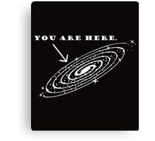 Space Here Canvas Print