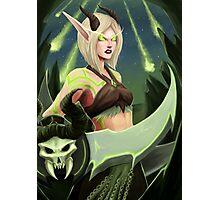 Warcraft - Blood Elf Demon Hunter Photographic Print