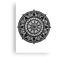 Zen Compass Canvas Print