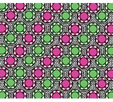 Bejeweled Green Photographic Print