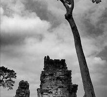 Crumbling Towers - Angkor Thom, Cambodia by Alex Zuccarelli