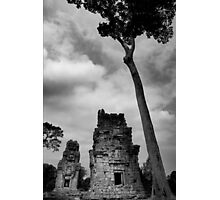 Crumbling Towers - Angkor Thom, Cambodia Photographic Print