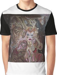 Steam Punk Portrait Graphic T-Shirt