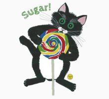 Lollipop cat Sugar Kids Tee