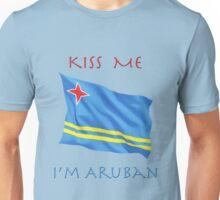 Kiss Me I'm Aruban Unisex T-Shirt