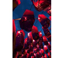 Namgang Lanterns - Jinju, South Korea Photographic Print