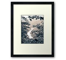 River Valley View Framed Print