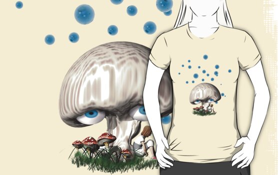 Daydreaming tee by Carol and Mike Werner
