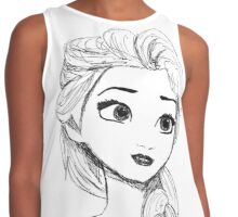 Original Illustration: Elsa Contrast Tank