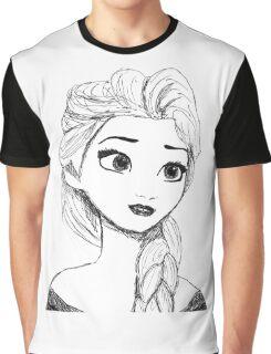 Original Illustration: Elsa Graphic T-Shirt