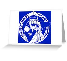 Jaegers Special Police Squad - White Greeting Card
