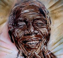 brick lane graffiti nelson mandela by andalaimaging