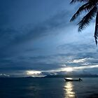 And Atoll Dawn - Pohnpei, Micronesia by Alex Zuccarelli
