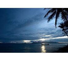And Atoll Dawn - Pohnpei, Micronesia Photographic Print