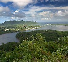 Pohnlehr Mountain Vista - Pohnpei, Micronesia by Alex Zuccarelli