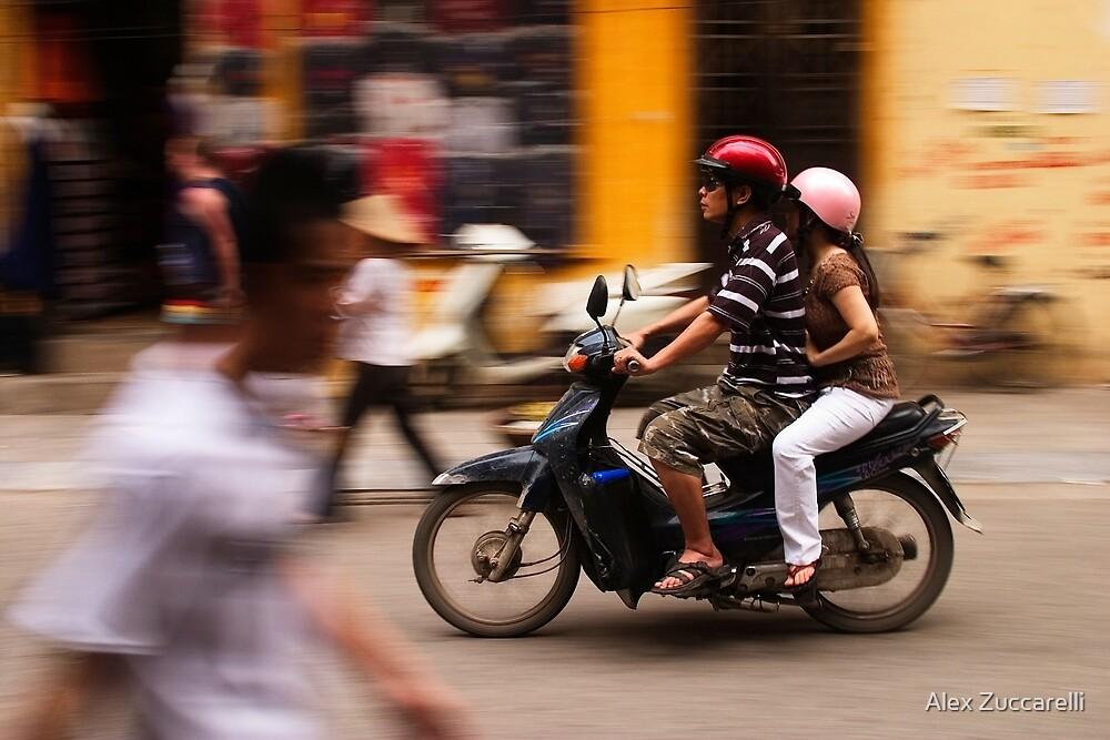 Motorbike Hanoi - Hanoi, Vietnam by Alex Zuccarelli