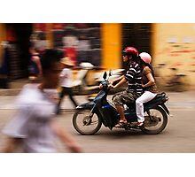 Motorbike Hanoi - Hanoi, Vietnam Photographic Print