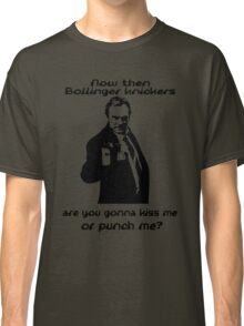 Kiss me or punch me? Classic T-Shirt