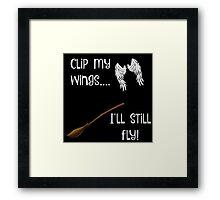 Keep on flying! Framed Print
