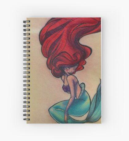 la sirenita Spiral Notebook
