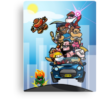 Last Day of Summer Street Fighter Poster Metal Print