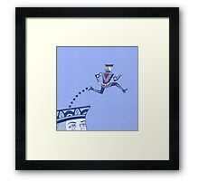Jumping Jack Escape Velocity Framed Print